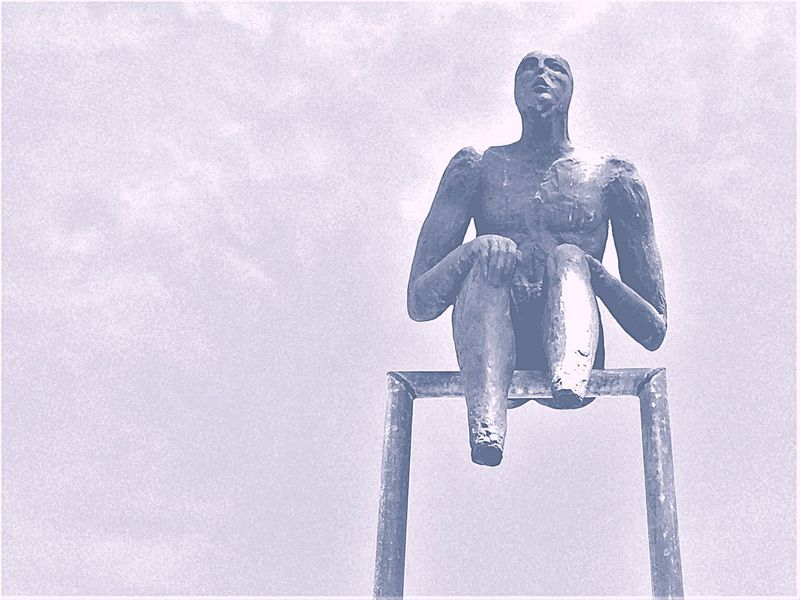 Outdoors Cold Temperature Day Statue No People Sculpture Sky Close-up