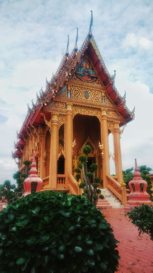 The elegance of Thai tample Architecture Sky Day Tample Thai Tample Travel Travel Thailand Beautiful Tample