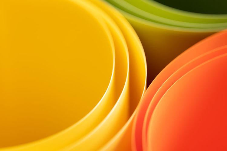 Full frame shot of multi colored paper