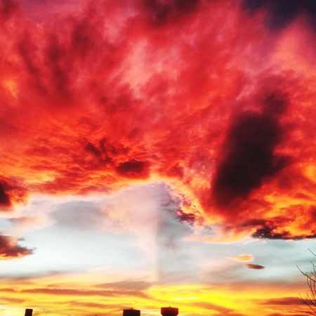 Colour Of Life Sunset_collection Colorado Life Sky And Clouds Summertime