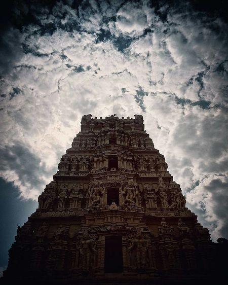 The art of architecture temple Temple India Travel Destinations ArtWork Architecture Place Of Worship Outdoors Religion Built Structure Cultures Sky Cloud - Sky EyeEm Mobilephotographyhyderabad Followusoninstagr Amazingphotohunter Day Dofollow Cycle Of Life Eye4photography  EyeEm Nature Lover Mobilephotography Mobilephotographyhyderabad Mobilephotography Mobilephotographyhyderabad Eye4photography  Workflow Picturesforlife Keepclickinggoodstuff Hyderabad Sky Eye4photography  bestphoto