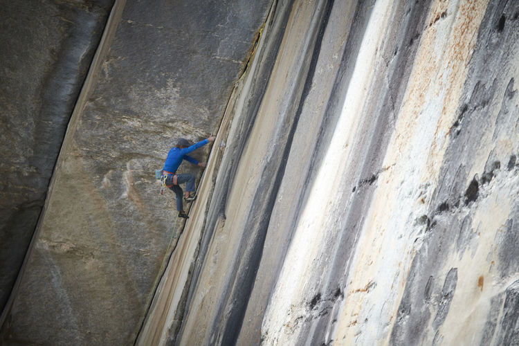 Climbing in