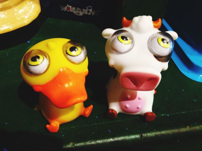 Duck & Cow Rubber Duck