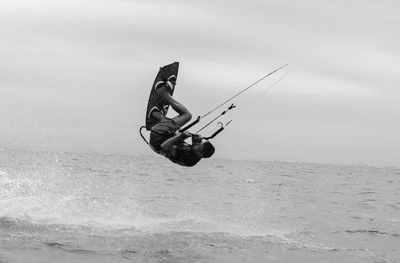 Backroll Kitesurfing Summer Wind Slingshot Rally Rpm Vladivostok Watersports Beach Canon 6D