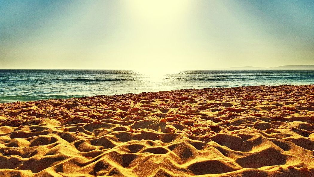 Relaxing Beach Beach Photography Sunnyday Gold Sand Just Me Sea Portugal