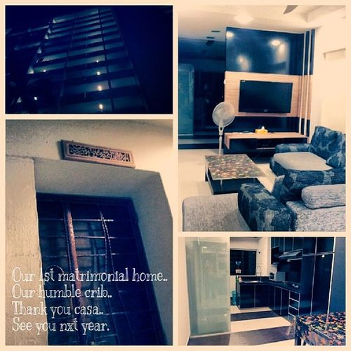 That's it ... I'm gonna missed you dearly my casa..for the last time Seeyounxtyr Moving2JB Newenviroment Mfarokomar