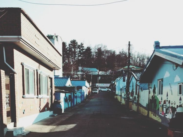 Town Oldtown Sokcho Smallhouses Wall Art Sea Peace And Quiet Traveling Taking Photos