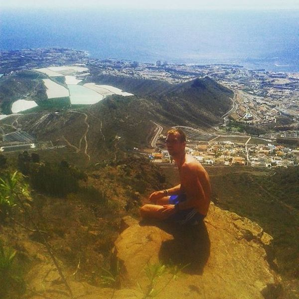 Mountains Mountainclimbing Travel Explore Ontopoftheworld LovingLife Roquedelconde 950mabovesealevel 950 GettingHigh Highup Beautifulview Stunning Awesome Tenerifesea Southtenerife Cactus Redrocks Beautifulterrain Whataview Anothersunday Lovemountains