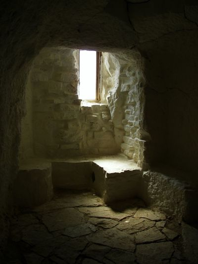 Cave to rest Cave Formations Hermitage Monegros Peace And Quiet Refuge Spiritual Sunlight Window