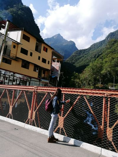 Bridge Miuntains Outdoors City Life Aguas Calientes-Perú