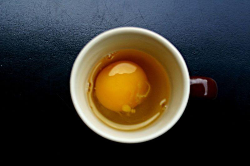 Do You Want A Cup Of Egg ? Vuoi Una Tazza D' Uovo ? Caffè Coffee Cucina Kitchen Food Cibo Creative Creativo Arancione Nero