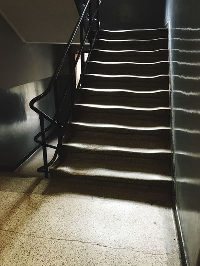 Stairs Lights Curved Buildings Curved Lines Ghosts No People Old Stairs Old Buildings