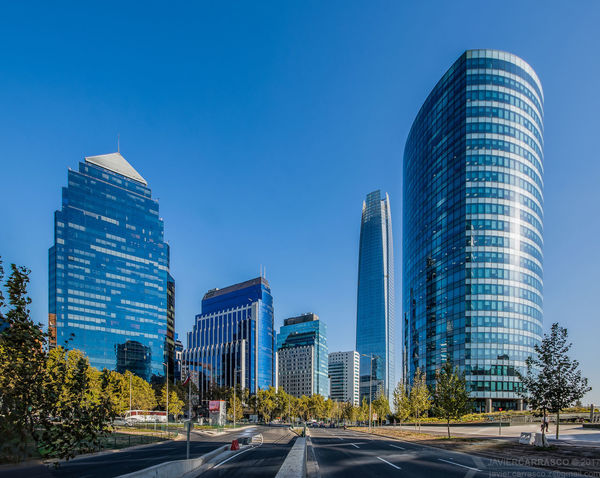 The skyscrapers in the CBD. HDR Skyscraper Architecture Downtown District Modern Office Building Exterior Traffic Building Exterior Pentax K-3 Wideangle Rectilinear HDR