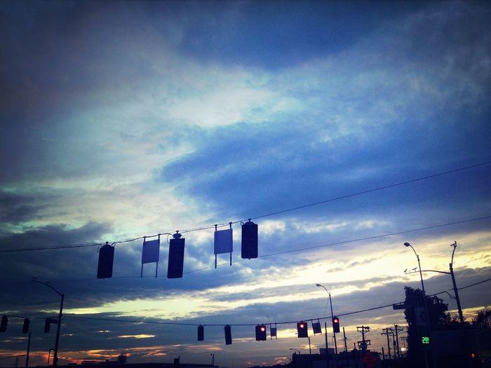 Floating traffic lights Driving Cloudporn Sky Skyporn