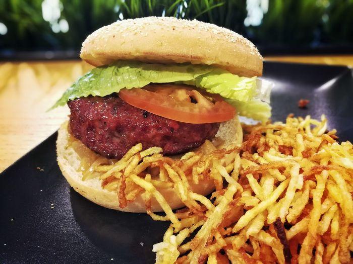 Hamburger Fadtfood Food