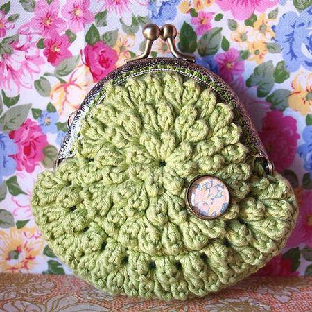 Monedero Crochet Ganchillo Coinpurse Handmadewithlove