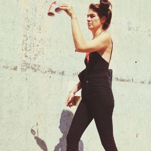 Streetphotography Nyartbookfair Opening Shades