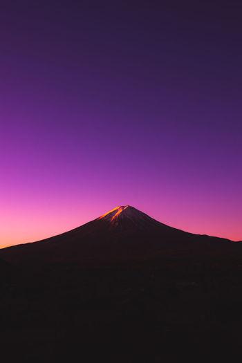 Mt. Fuji during