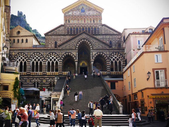2011 Cattedrale Cattedrale Di Sant Andrea Duomo Duomo Di Amalfi Italia Italy アマルフィー アマルフィー大聖堂 イタリア カトリック教会 ドゥオーモ広場 大聖堂 階段