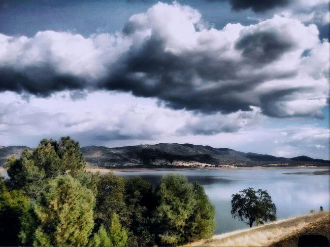Beautiful day at the Lake Cloud_collection  Cloudscape Flippa K Asks: What Inspires You? Landscape_Collection