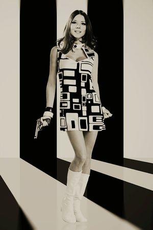 Emma Peel , Diana Rigg 1963 Avengers