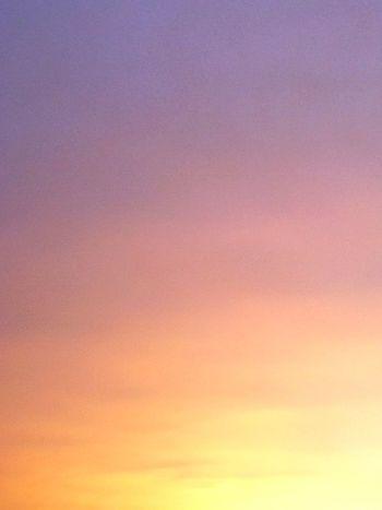 霞ヶ浦の夕焼け