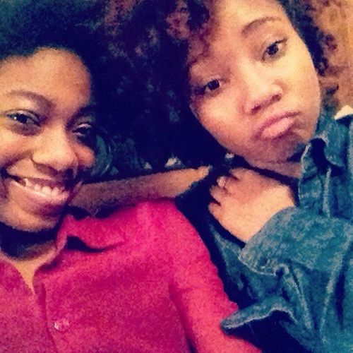I Love This Pic Of Me With My Boo, My Sister!