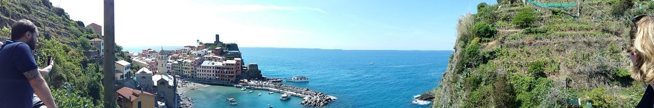 Sea Water Panorama Nature Sky Outdoors 5 Terre 🇮🇹 Italy 5 Terre Italia Italia City Blue Nature