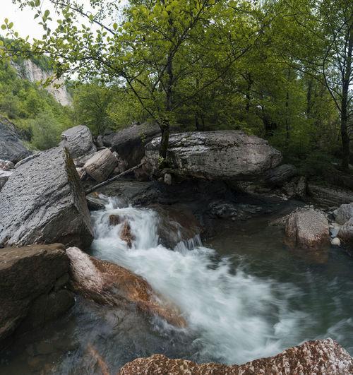 Ocatse Georgia River Nature Landscape Green Kinchkha Khoni Imereti Art
