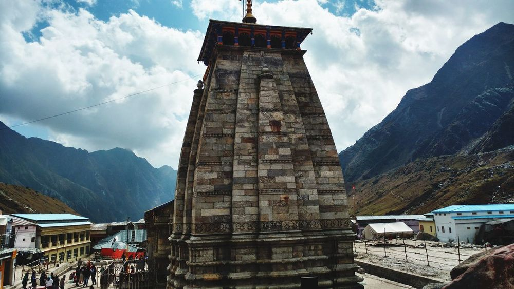 EyeEm Selects Travel Destinations History Built Structure Mountain EyeEm EyeEm Best Shots Ashishdoorwar96 India Freshness Religion Kedarnath