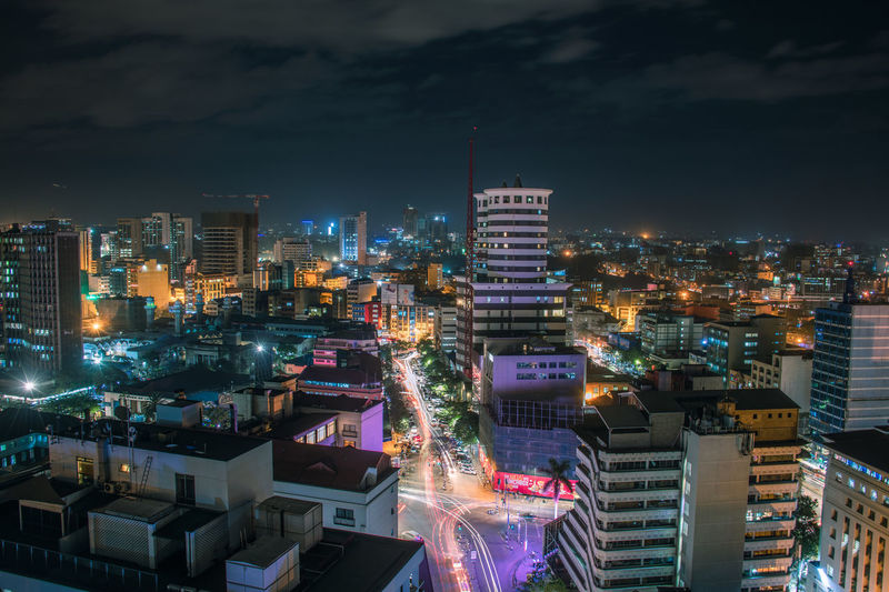 Nairobi Nightlife Scenery The Week on EyeEm EyeEm Best Shots EyeEmNewHere EyeEm Selects EyeEm Gallery Building Exterior Nairobi Nightlife Night Lights Panaroma Office Building Exterior Skyscraper Outdoors Illuminated