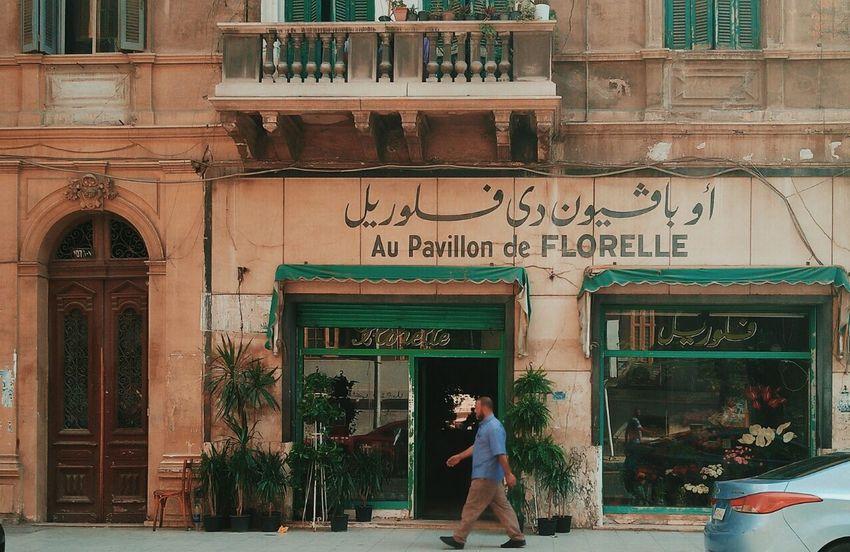 City Alexandria Egypt Streetphotography Flowershop