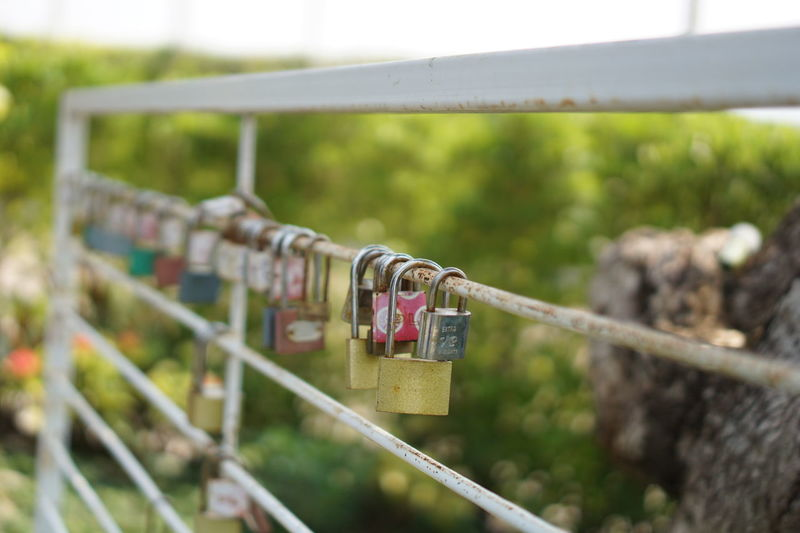 Safe Locked Security Footbridge Clothesline Razor Wire Bridge - Man Made Structure Clothes Laundry Drying Lighthouse Security Camera Chainlink Fence Chainlink Keyhole Security System Latch Barbed Wire Clothespin Supermarket Produce Aisle