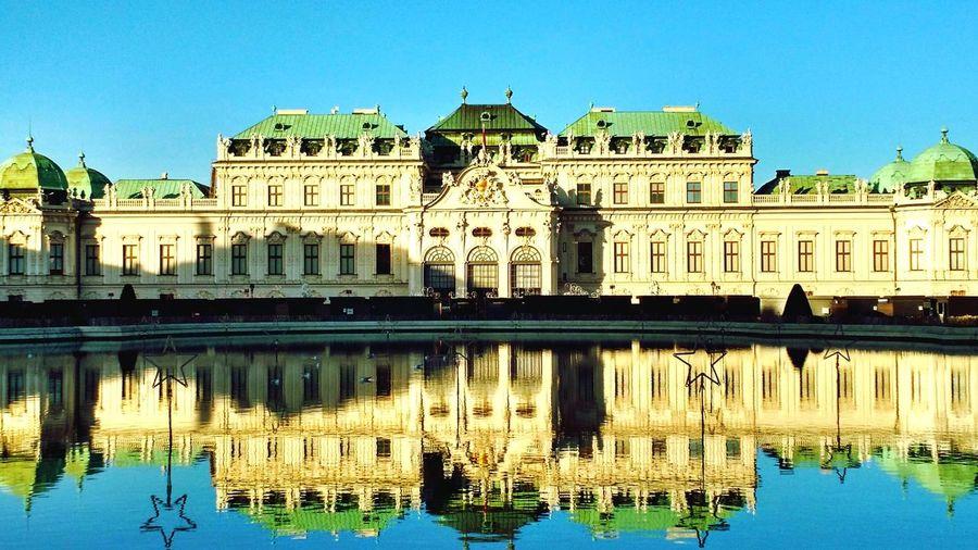 Vienna beauty sparklingly weather! Enjoying Life Europe Reflex Austria
