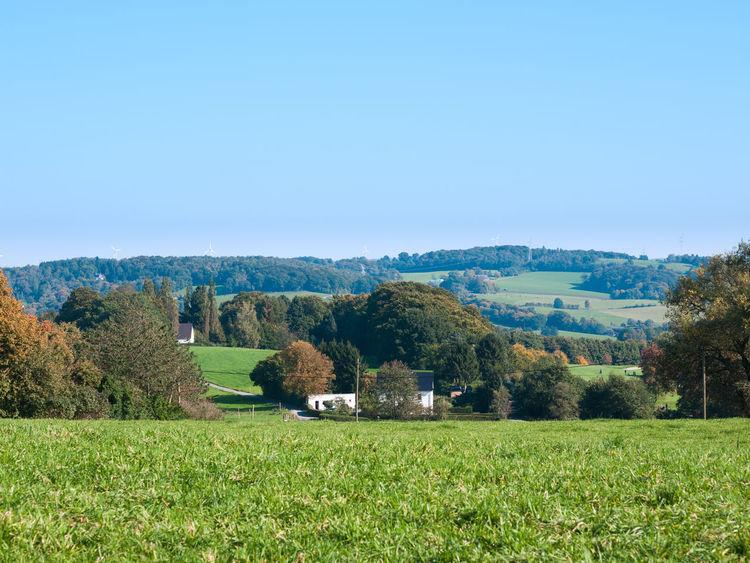 A view of Velbert Autumn Bluesky Clear Sky Düsseldorf Farm Germany Green NRW Sunnyday Velbert