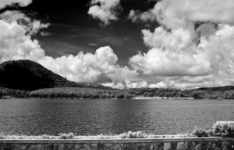 Vietnam Beauty In Nature Cloud - Sky Day Lake Landscape Mountain Mountain Range Nature No People Outdoors Scenics Sky Tranquil Scene Tranquility Tree Vietnamphotography Water