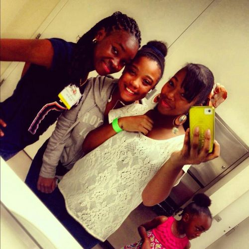 At Paradise Jam with the gurlies.!!! #tbt