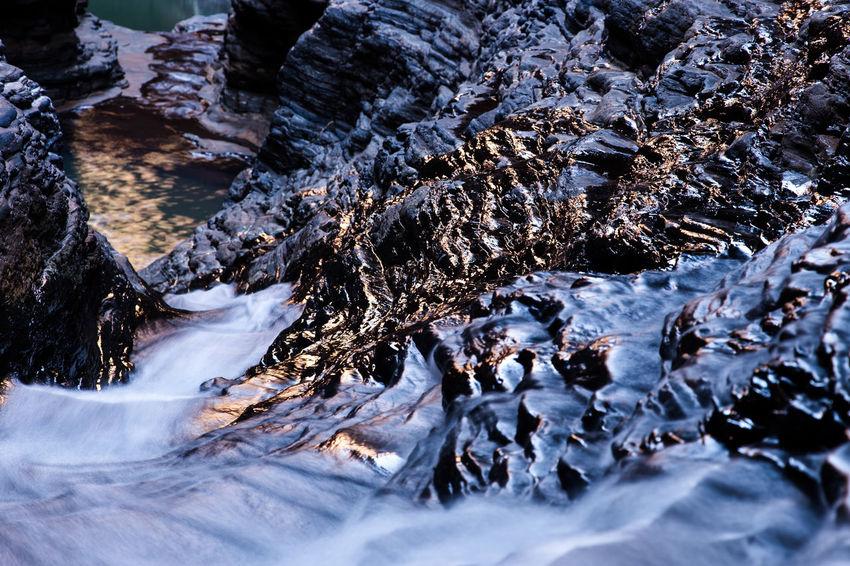 Australia Australia & Travel Australian Landscape Beauty In Nature Beauty In Nature Colerfull Flowing Flowing Water Karijini National Park Long Exposure Non-urban Scene Outdoors Roadtrip Tranquil Scene Tranquility Weather