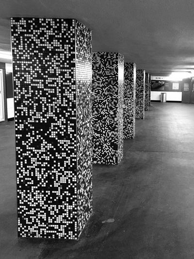 Blackandwhite Photography Myberlin Geometric Shapes Geometry Light And Shadow Ubahn Ubahn Berlin Architecture Architecture_collection Architectural Detail Iloveberlin Berlin Subway Station Subway Blackandwhite Black & White Black And White