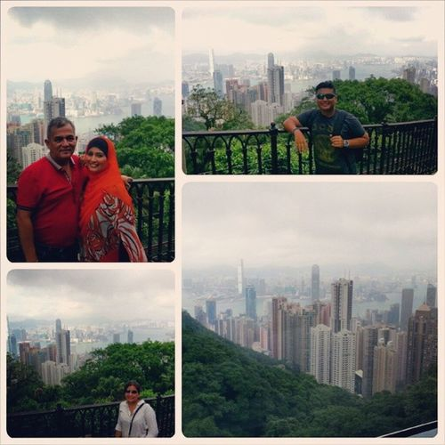 Throwback to our HongKong getaway.. It still seems so surreal.. The circumstances which brought us there seems too good to be true.. but yet, we are very thankful to God for this rare opportunity.. Alhamdulillah.. Samsulsabroad Weneededthis