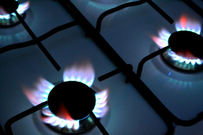 Stove Flame Burner - Stove Top Heat - Temperature Gas Stove Burner Blue Close-up Indoors  Silhouette Domestic Kitchen Domestic Room Burning No People Illuminated Gas