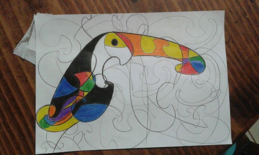 My Drawing Art My Drawings One Of My Drawings Art, Drawing, Creativity My Draw ♥ Animals Tucan Tucano Costa Rica