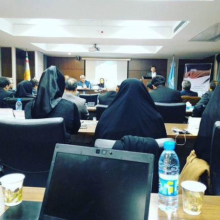 . . . نشست افتتاحیه همایش مشورتی نقش فناوری های اطلاعاتی و ارتباطی در توانمند_سازی معلولین با حضور مسئولین نهاد های داخلی و خارجی با محوریت یونسکو در حال برگزاری است . نوید_کمالی Navidkamali
