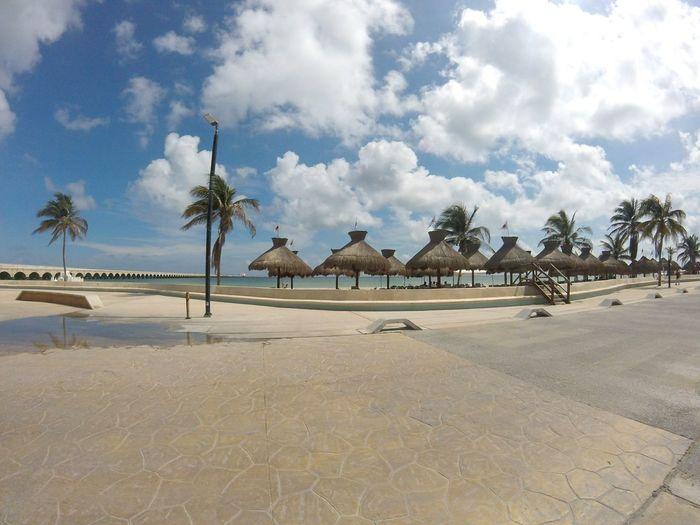 Investing In Quality Of Life Progreso Beach Mexico Mérida Yucatán Sea Sunny Goprohero+