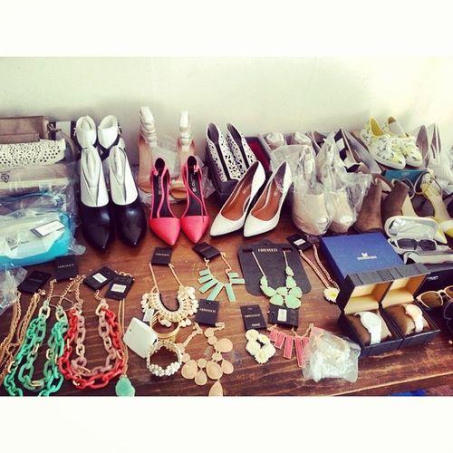 Spring fashion eye candy ♡ @daremagcanada Fashion Style Springfashion Springtrends accessories shoes jewelry pastels popart instagood instamood