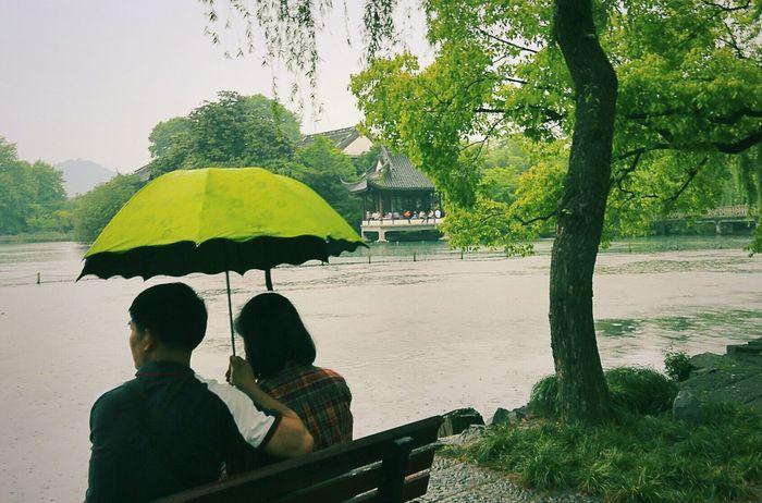 Rainy Days Love Riverside Chinatown Street Photography Views XiHu xihu