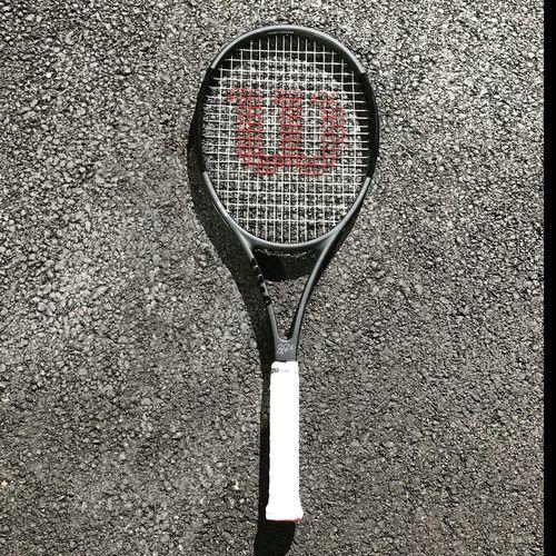 Wilson Pro Staff RF 97 Tennis 🎾 Tennislover❤ Tennis Court Tennis Racket Coach Tennis Tennis Practice :D Geometric Shape First Eyeem Photo Racket Tennis Net