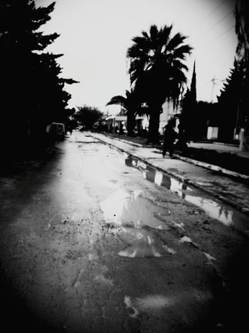 City Streetphotography On The Road Distracted Water Photo Around Me Black And White