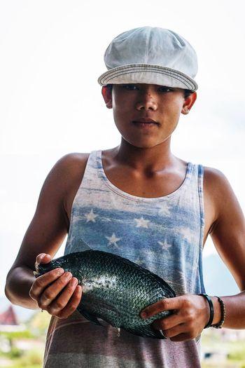 Fish boy Boy