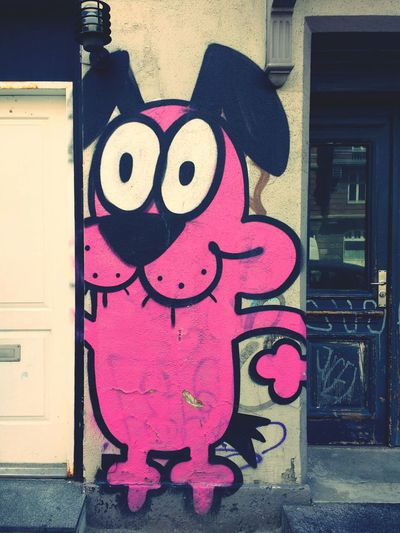 Dog Door Pink Color No People Close-up Graffiti Wall Aerosol Spraypaint Art Spraypaint Graffiti Urbanphotography Multi Colored Textures And Surfaces Urbandecay Building Exterior Painted Image Street Art Spraypainting Spray Paint Wall - Building Feature Signofthetimes Art And Craft Focus On Foreground Pink Forgotten Places